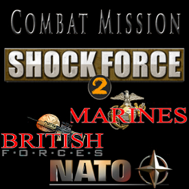 CMSF2 Marines + British + NATO BUNDLE